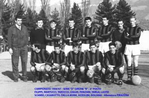 Passirio squadra 1966 1967