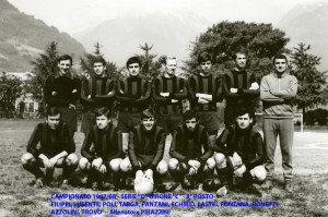 Passirio squadra 1967 1968