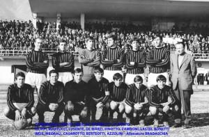 Passirio squadra del 1969 1970