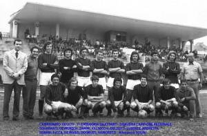 Passirio squadra del 1972 1973