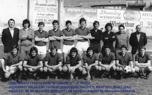 Passirio squadra 1973 1974