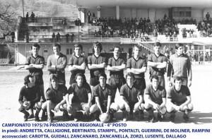 Passirio squadra 1975 1976