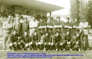 Passirio squadra 1977 1978