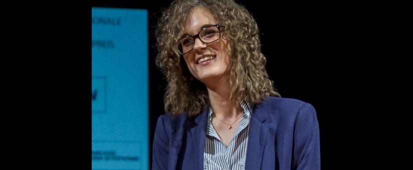 Francesca Quarta, vincitrice della sezione narrativa 2015