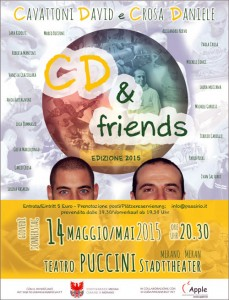 poster CD e friends
