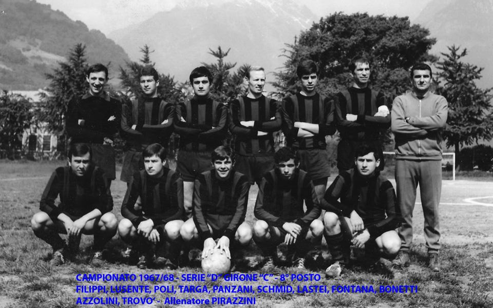 Passirio squadra del 1967-1968