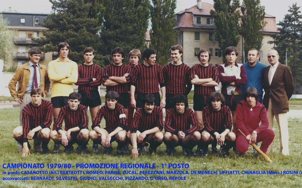 Passirio squadra 1979-1980