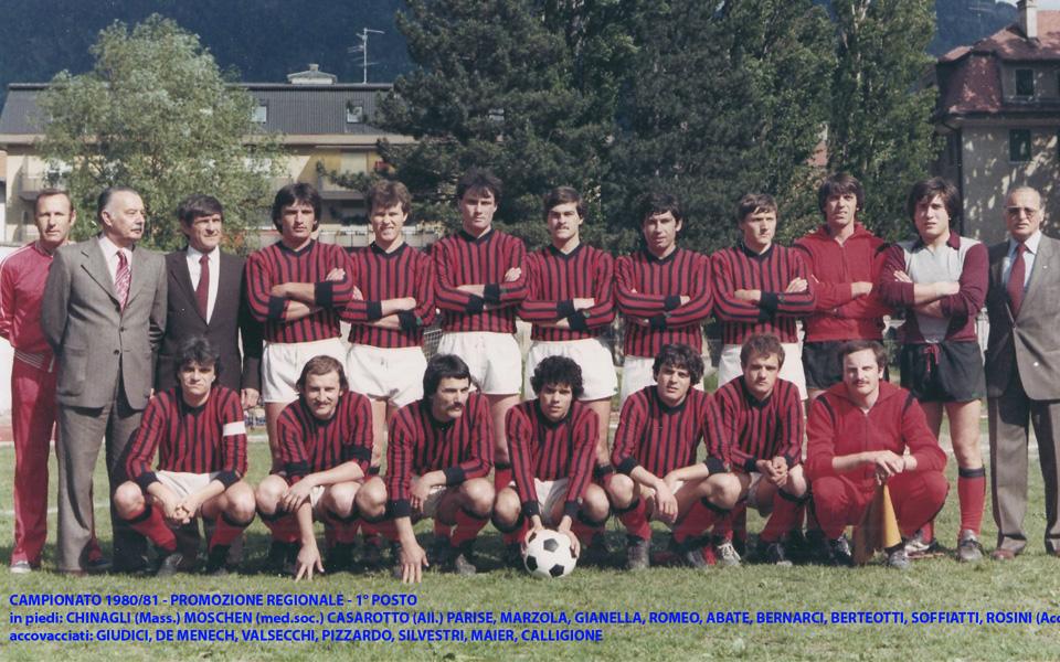 Passirio squadra 1980-1981