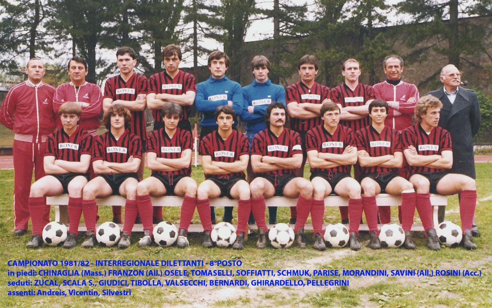 Passirio squadra 1981-1982