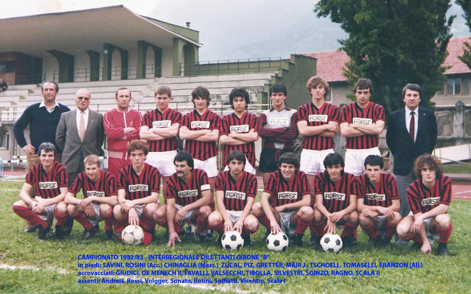 Passirio squadra 1982-1983