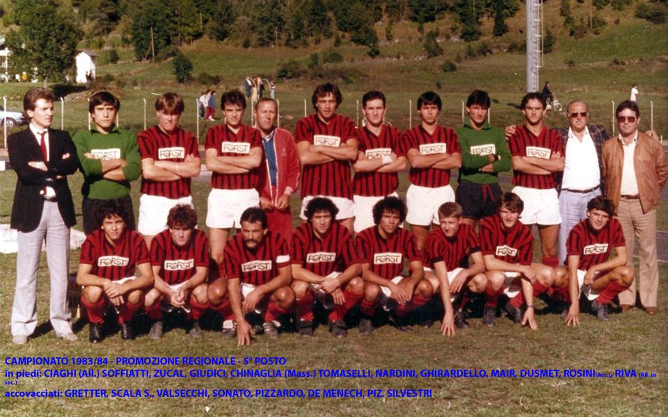 Passirio squadra 1983-1984