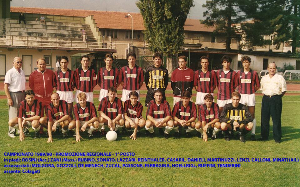 Passirio squadra 1989-1990
