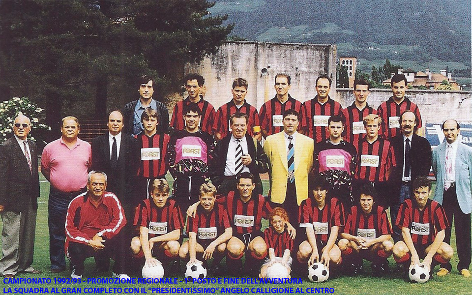 Passirio squadra 1992-1993