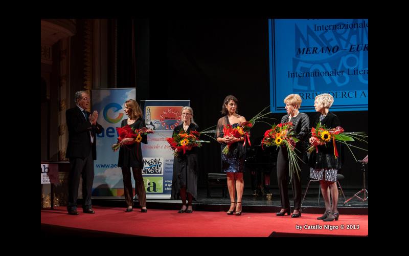 premiazione 2013 omaggio alle donne