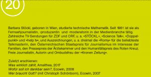 Barbara Stockl biografia