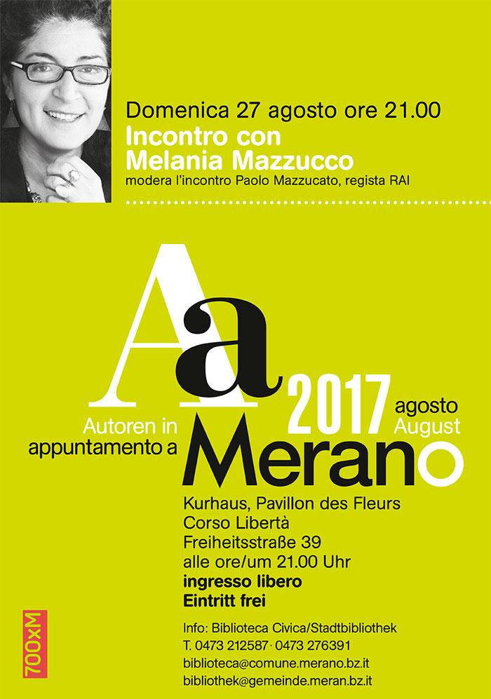 melania mazzucco appuntamento a merano 2017
