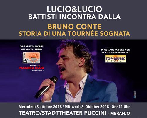 Bruno Conte lucio and lucio