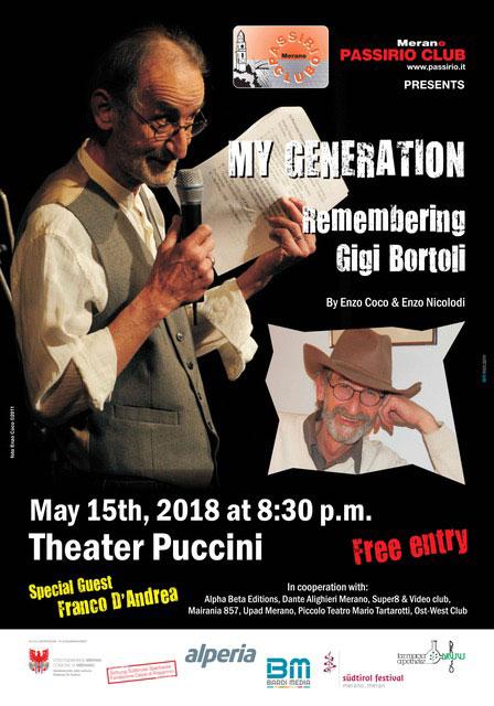 My Generation Poster Gigi Bortoli