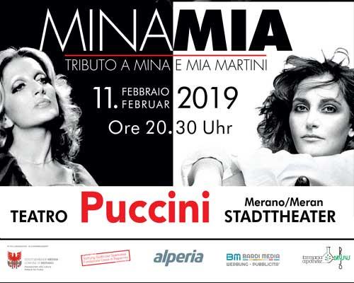 Spettacolo Mina Mia a Merano 2019